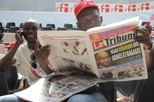Article : La formation #MondoblogDakar dans les médias