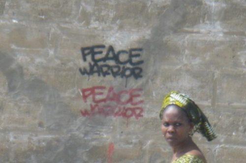 Article : Contestation politique sur les murs de Dakar